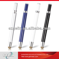 metal soft touch pen for ipad 2