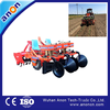 ANON riding type 2 rows sweet potato with rotary tiller planting machine