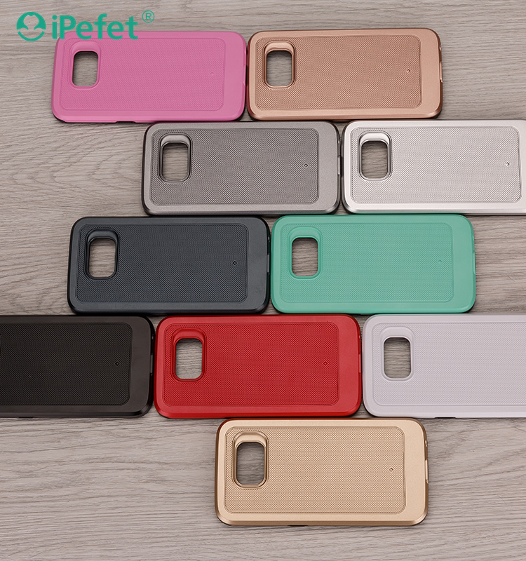 2 in 1mobile phone case,back cover case for Samsung Galaxy S6