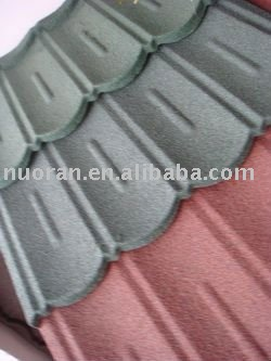 Nuou Stone Coated Steel Roofing Sheet/sand metal roof tile