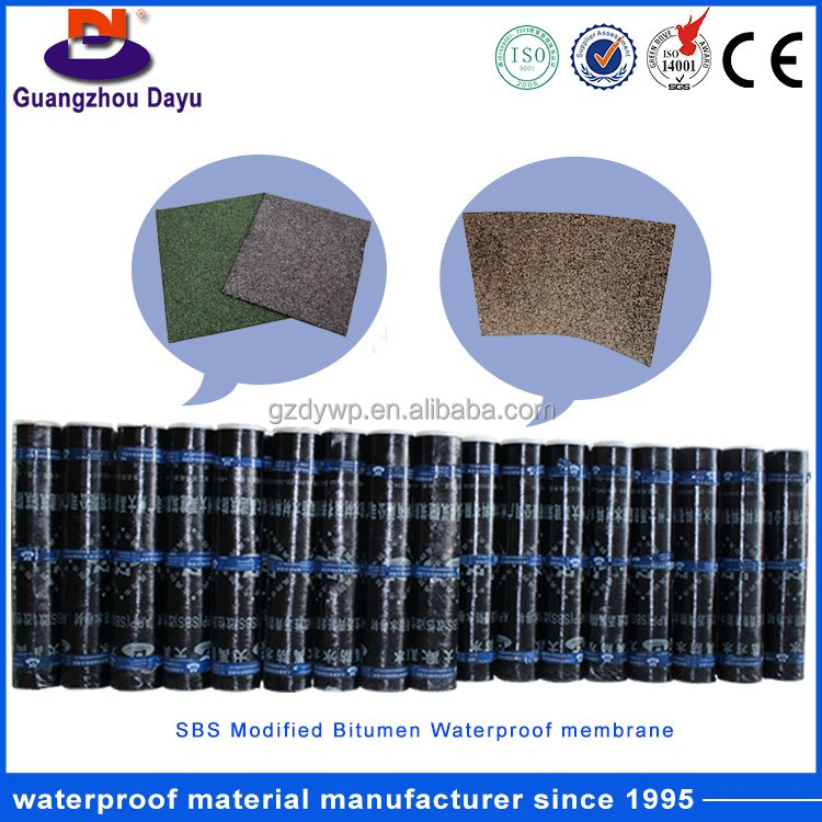 Made In China New Product 4Mm Thickness Sbs Waterproof Membrane Price