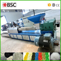 High Output extruder machine plastic recycling