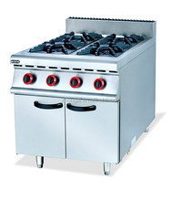 hot selling commercial heavy duty gas range burners/gas oven restaurant kitchen equipment