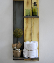 Handcrafted from Reclaimed Wood shelf