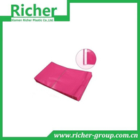 double layer extruded plastic mailing bags film colored
