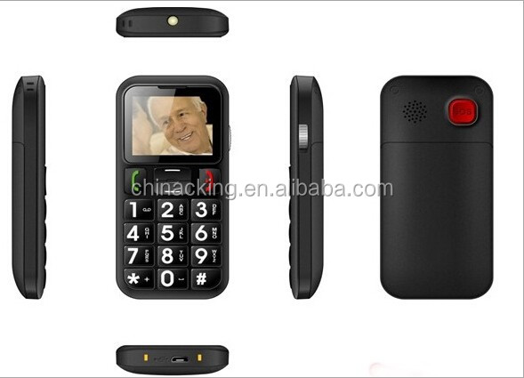 1.77 inch dual sim big key mobile phone with sos button