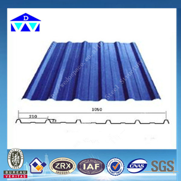 Good quality colored corrugated steel sheets for metal roofing philippines