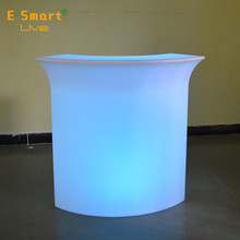 Rechargeable LED Furniture Garden Event Club Outdoor Bar Counter