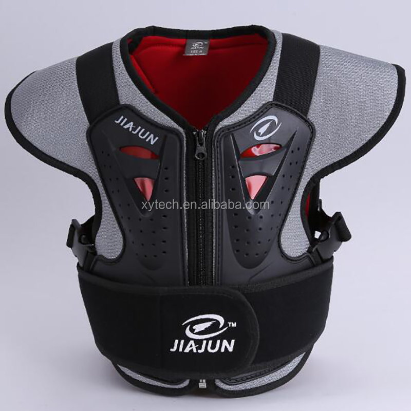 Boy Motorcycles Body Armor Kid Shoulder Chest Waist Protector Child Riding Jacket