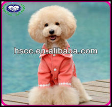 Red Wool fabric Winter Dog Coat China Designer Dog Clothes Fashion