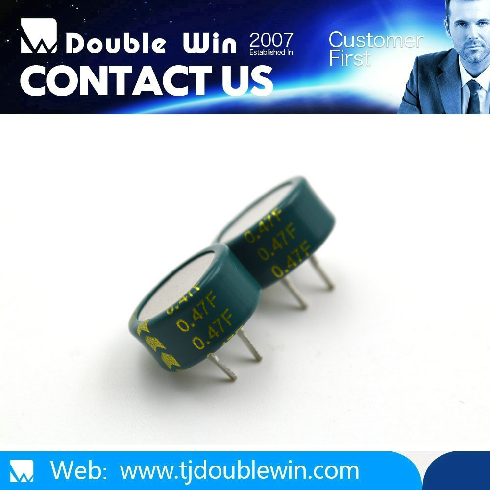 C type 0.22f power 5.5v low voltage capacitor