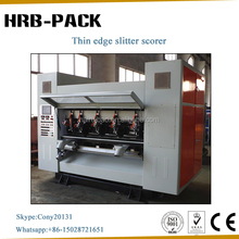 Corrugated Paperboard Separately Slicing Paper and Rolling the Line Machine and Rotary Slitter