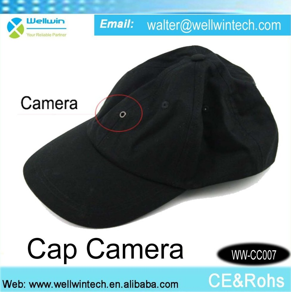 New Hidden Digital Camcorder Cap hidden Camera