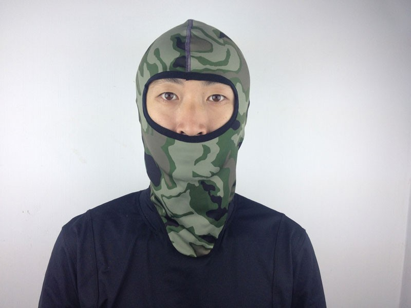 Low MOQ Military Customized Army Funny Portable Outdoor Promotional Spandex Printed Silk Sports Motorcycle Face Masks