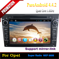 "7"" doulbe din Car Multimedia player with gps for Opel Vectra/Antara/Zafira/Corsa/Meriva/Astra new Quad Core Android 4.4.2"