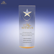 Gold Star Dome Acrylic Award Trophy Memento Souvenir