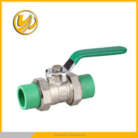 wholesale PP-R brass ball valve cw617n brass valve