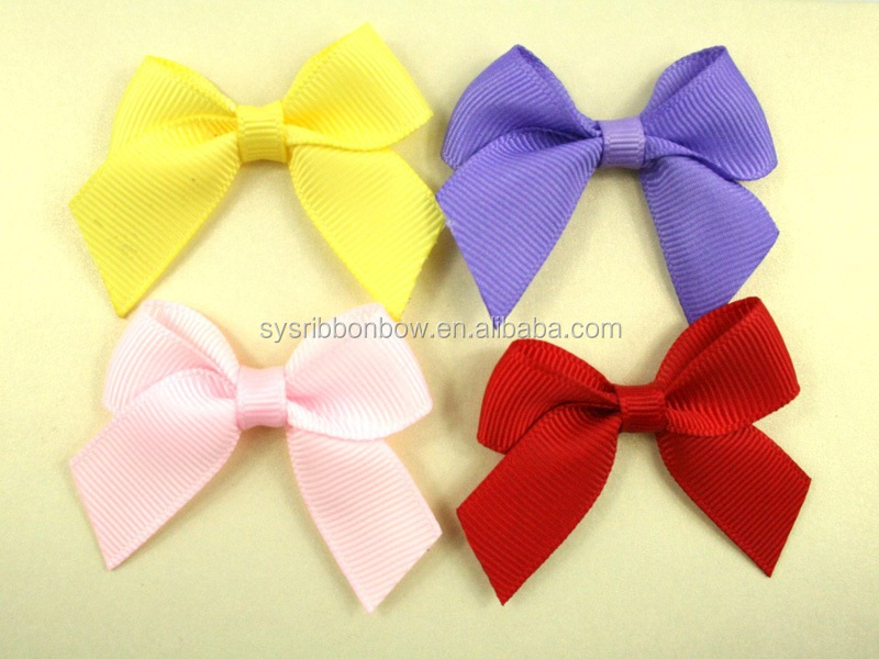 Personalized Handmade Polyester Satin Ribbon Bow