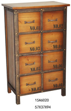 chinese vintage handicraft latest furniture drawer file cabinet