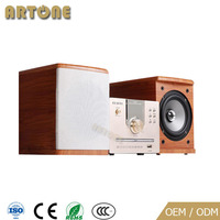 "HDA-605 Home Theater 5.1 amplifier mini stand rackmount usb DVD Player with Silk dome tweeter 5""coaxial speaker"