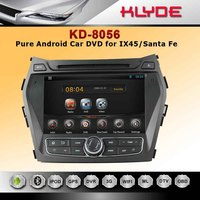 8 inch Android 4.2 Rockchip dual-core car dvd player for IX45/Santa Fe 2013