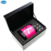 Top-end dice packaging foam tray PU leather box/leather gift box with custom logo