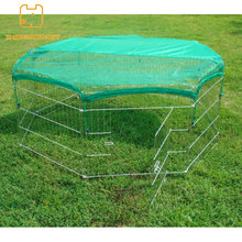 Good sale dog outdoor fences with the net cover