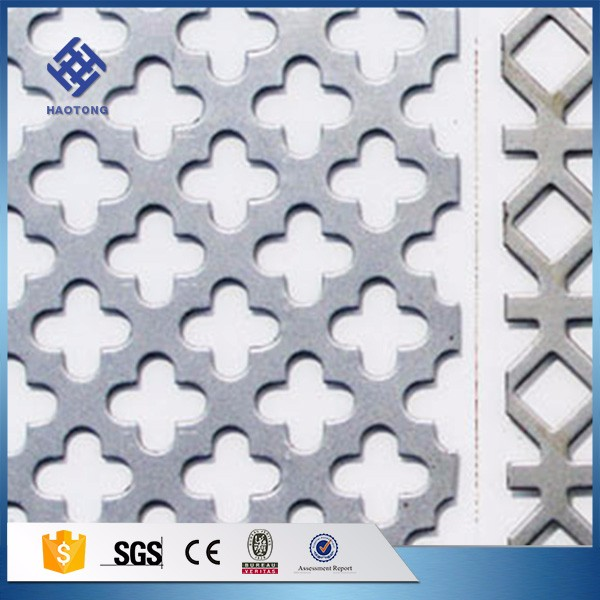 30 Years' factory supply perforated metal mesh for trieur