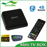 2016 Christmas Gift M8S Android TV Box HD 4K2K Amlogic S812 TV Box M8S Bluetooth4.0 Support H.265 Kodi 14.2 Android4.4 Quad Core