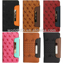 Cute Leather Flip Case Cover For Samsung Galaxy S4 Mini i9190