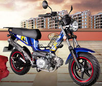 110CC motorcycle with new design, best-selling