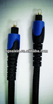optical Toslink cable AX-F50AN05(black with blue)