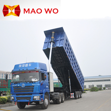 Hot Sale Maowo 3 Axles Tipper Semi Trailer and Rear Dump Semi-trailer