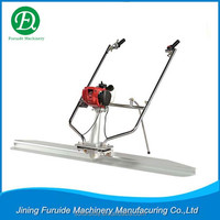 concrete vibrating screed finishes concrete faster (FED-35)