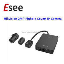 DS-2CD6424FWD-10'20'30 Hikvision CCTV 2MP Pinhole Covert IP Camera with Audio & Alarm