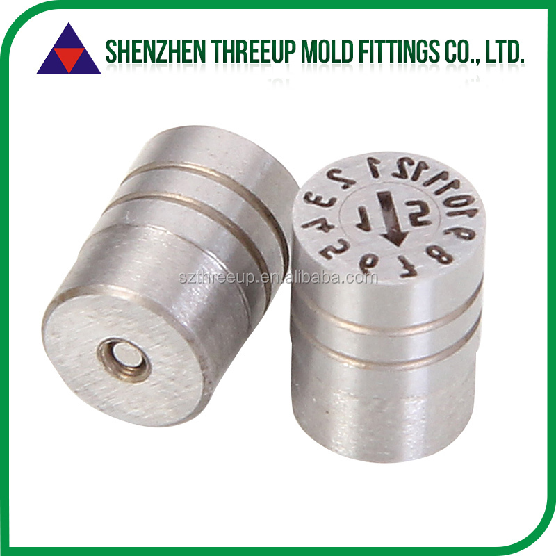 2015 hot sales date marked pins automatic date stamp Injection <strong>Mould</strong>