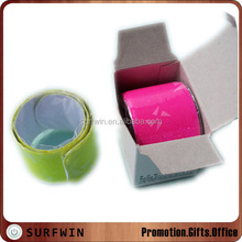 reflective plastic slap wrist band