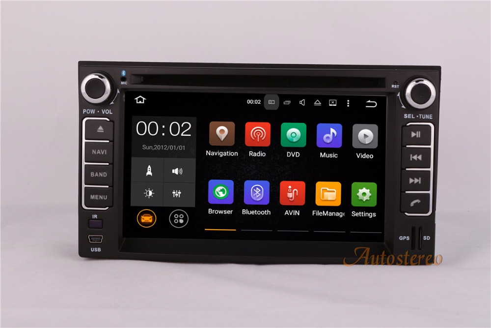 Quad core Android 5.1.1 Car DVD Player GPS Navigation Radio Stereo forKIA CERATO SPORTAGE CARENS OPTIM Spectra Sorento Autoradio