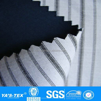 Woven Yarn dyed T/C 65% polyester 35% cotton bonded 100% polyester fabric for bag/ garment/decoration