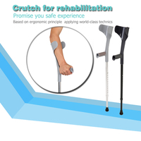 Elbow Crutch for therapy and rehabilitation Forearm Crutch