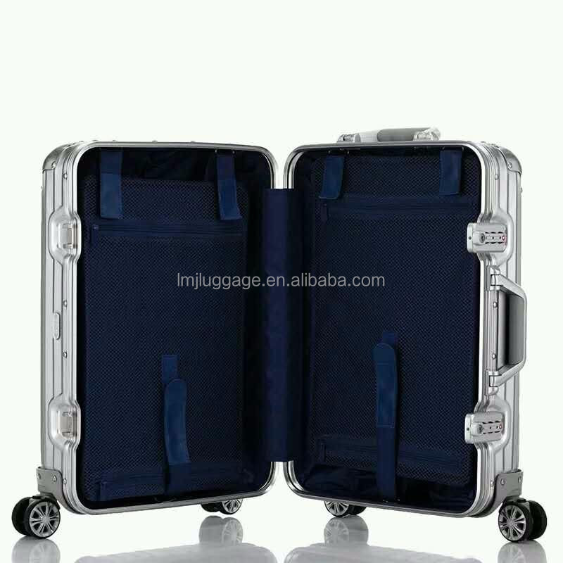 20 Inch Wheeled Aluminium Trolley Cabin Luggage Fashion Style