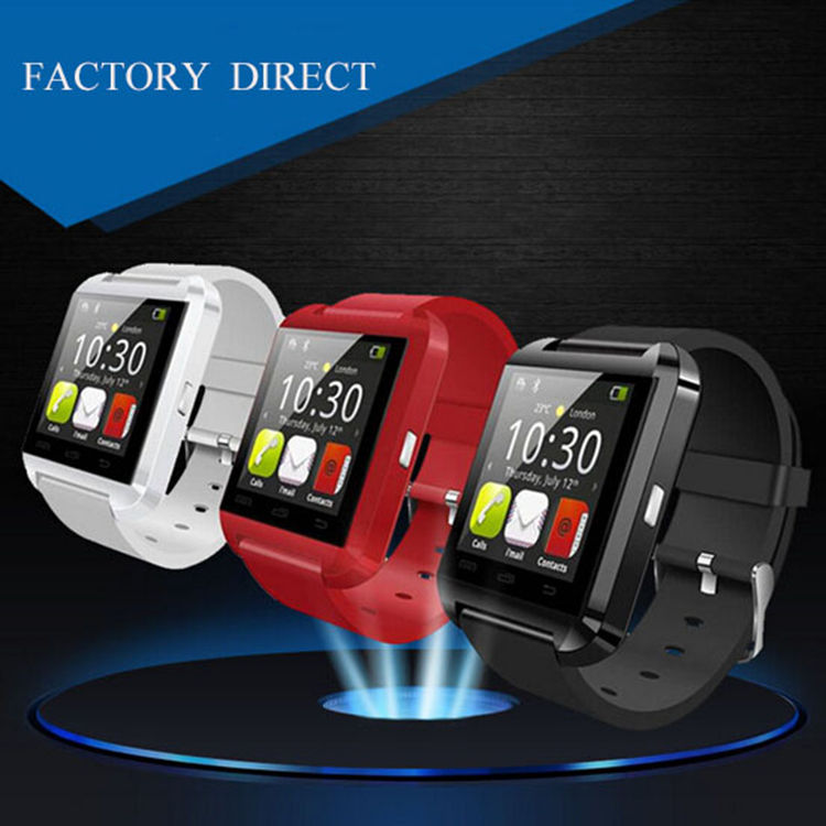 factory directly supply android U8 smart watch with bluetooth