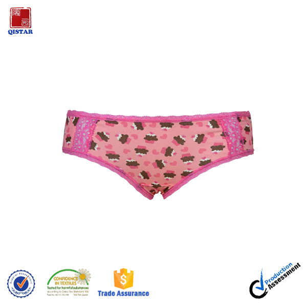 Wholesale Young Girl Cute Print Sexy Panties/Cute Underwear Girls Panty