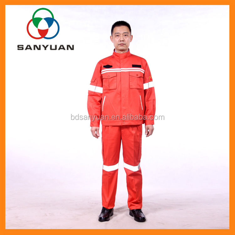 China Wholesale Protective Clothing 100% cotton fire resistant clothing