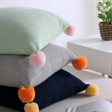 SHC054 Home Decoration Colorful Knitted Cotton Cushion Cover