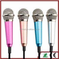 New 3.5mm Wired Magic Karaoke Sing Microphone for all phones