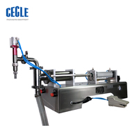 CE approved automatic small wine bottling machine/pet beverage bottle filling machine/filler machine price