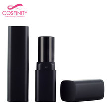 Cosmetic plastic packaging lip balm packaging box square lipstick tube container lipstick case