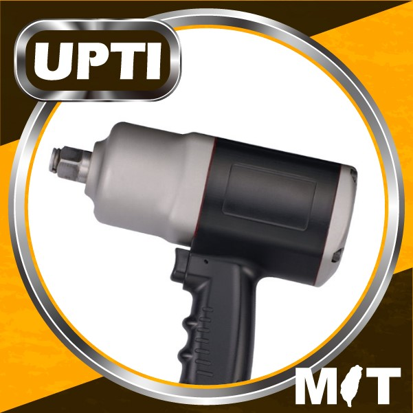 "Taiwan Made High Quality 3/4"" Composite Air Impact Wrench - Twin Hammer"