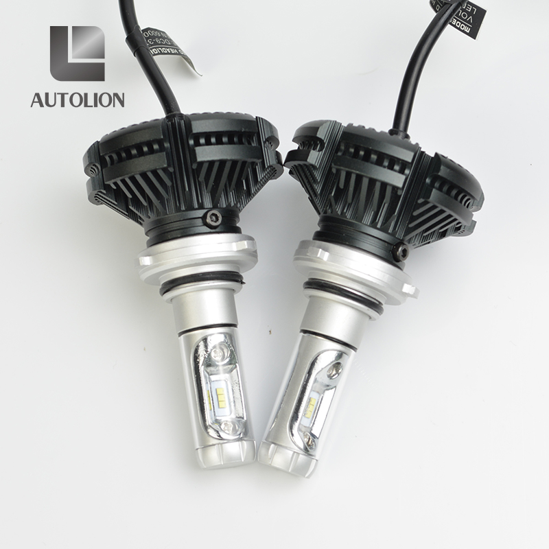 2017 Top quality best car led light with white and yellow light h4 h1 h3 h7 h11 9005 9006 880 H13 9004 9007 auto led headlight